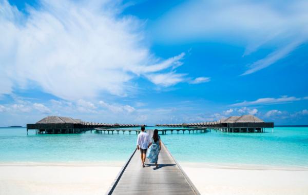 Despertarse en el paraíso maldivo