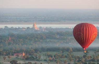 Vuelo en globo sobre Bagan(Myanmar). Una Experiencia única