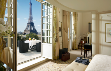 Dormir en un palacio parisino